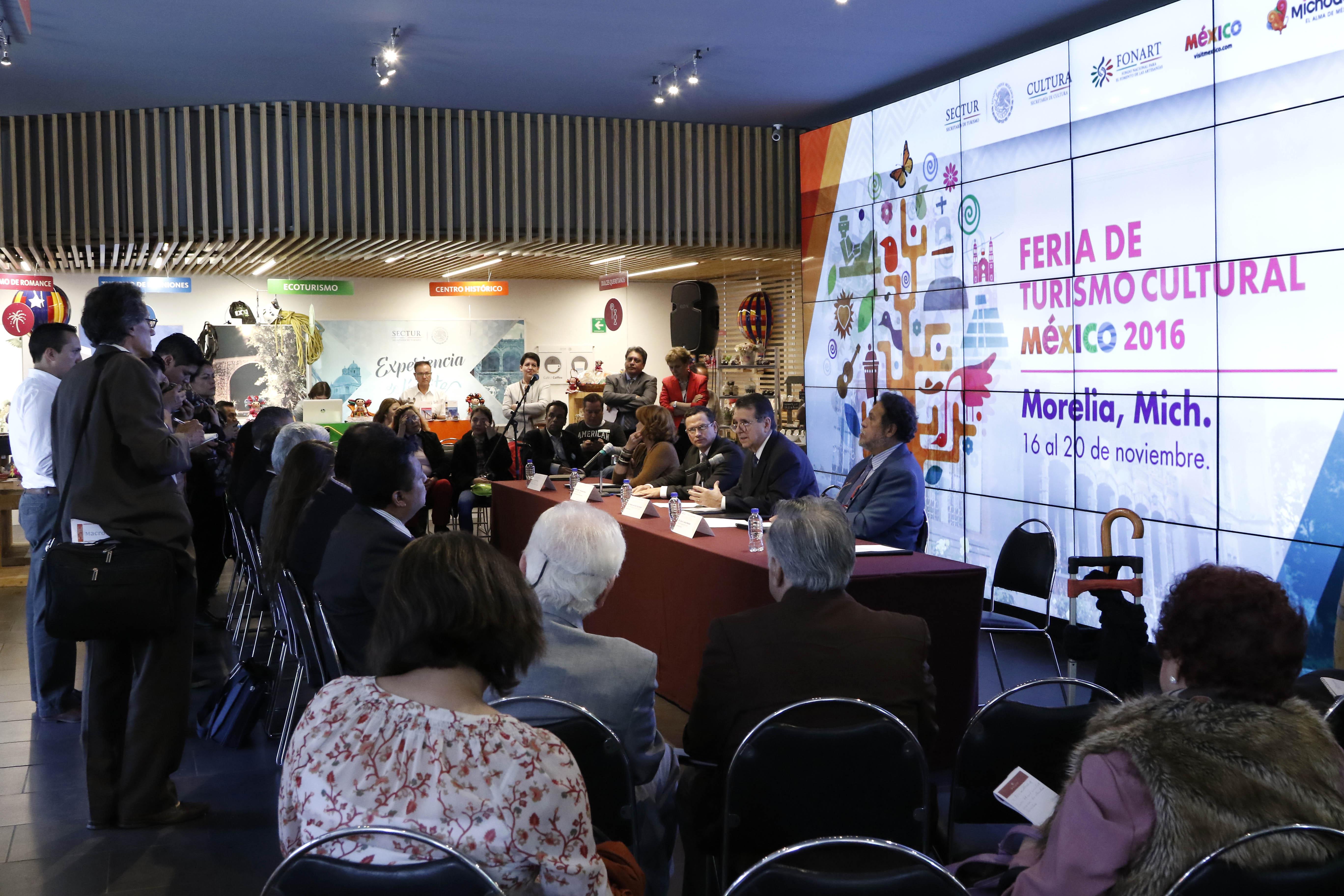 Realización de Séptima Feria de Turismo Cutural consolidará oferta de México: Sectur