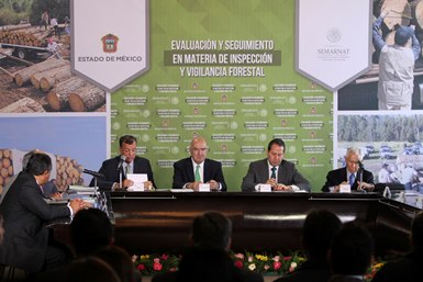Reunión para protección de los bosques del Edomex.