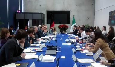 Reunión México- Alemania.