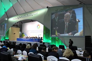Secretario Guerra Abud participa en la COP12 de Biodiversidad.