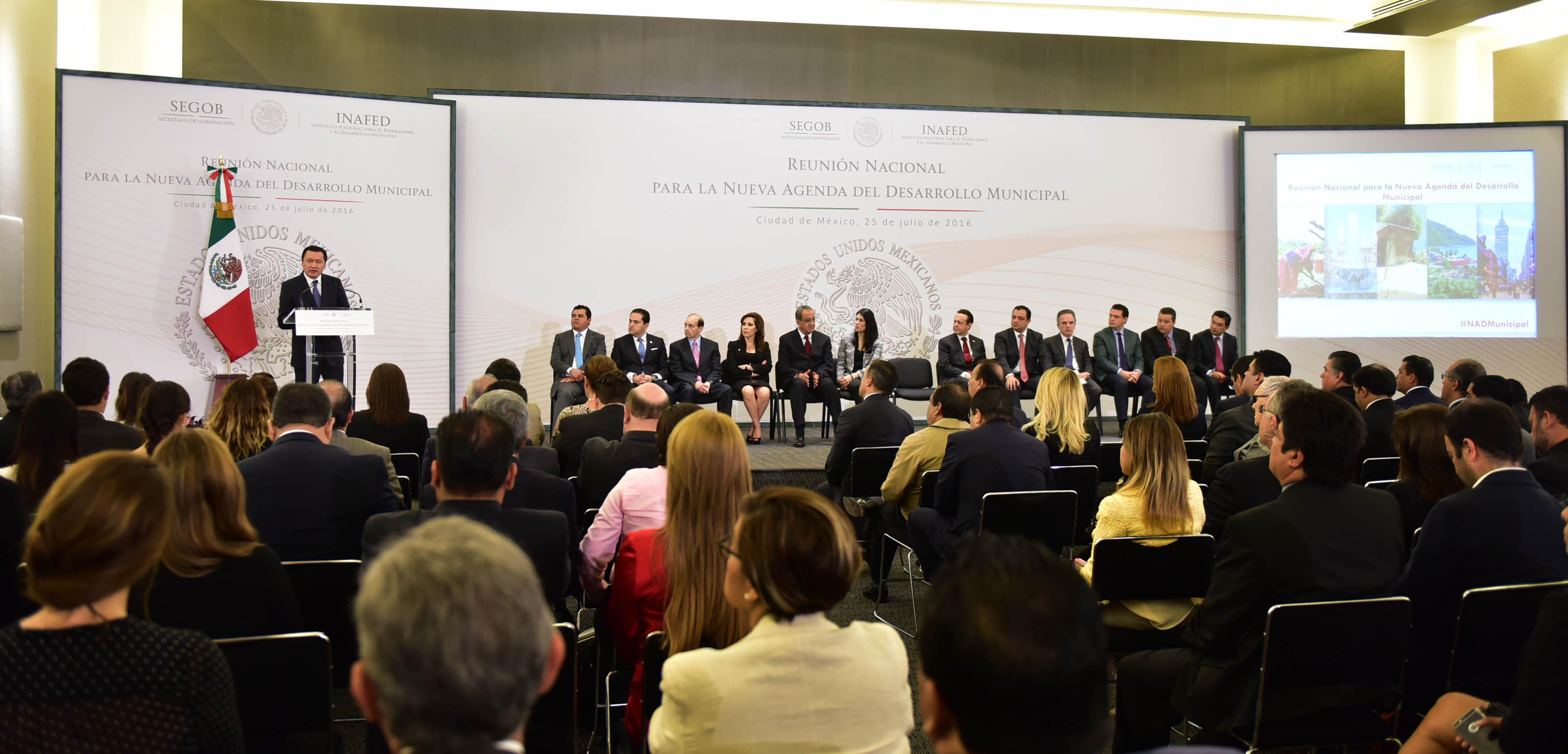 Reunión Nacional para la Nueva Agenda del Desarrollo Municipal