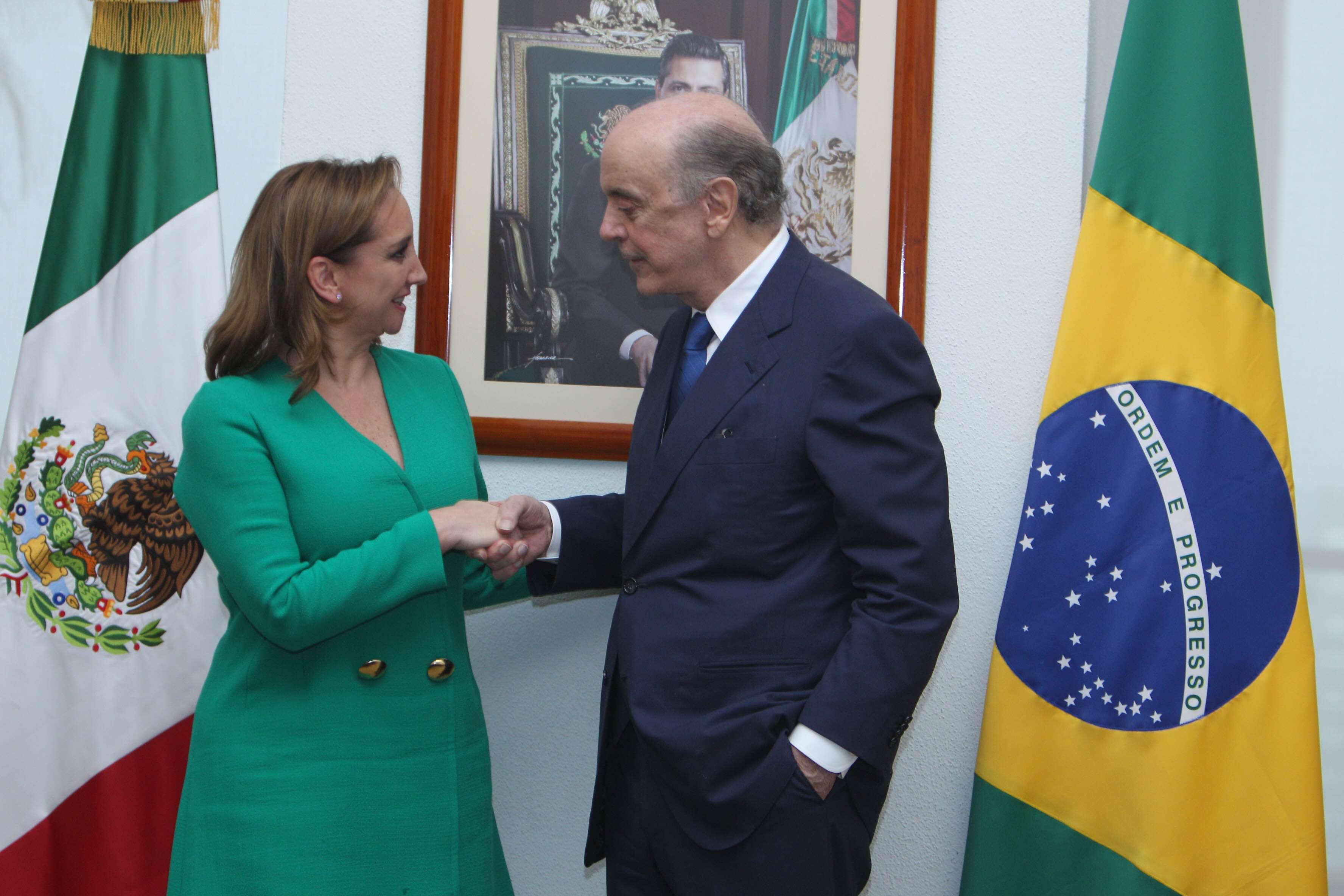 Realiza visita a México el Ministro de Relaciones Exteriores de Brasil