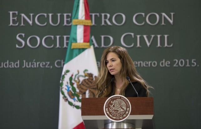 Diversas intervenciones durante la Comida con la Sociedad Civil, que tuvo lugar en Ciudad Juárez