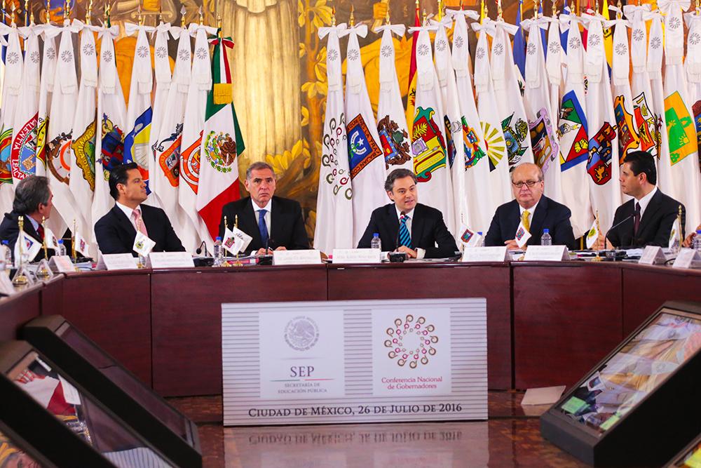 Mensaje del presidente de la Conago, Gabino Cué Monteagudo
