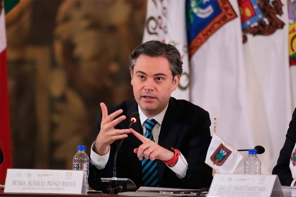 Mensaje final del secretario de Educación Pública, Aurelio Nuño Mayer