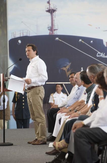 Emilio Lozoya Austin, Director General de Petróleos Mexicanos.