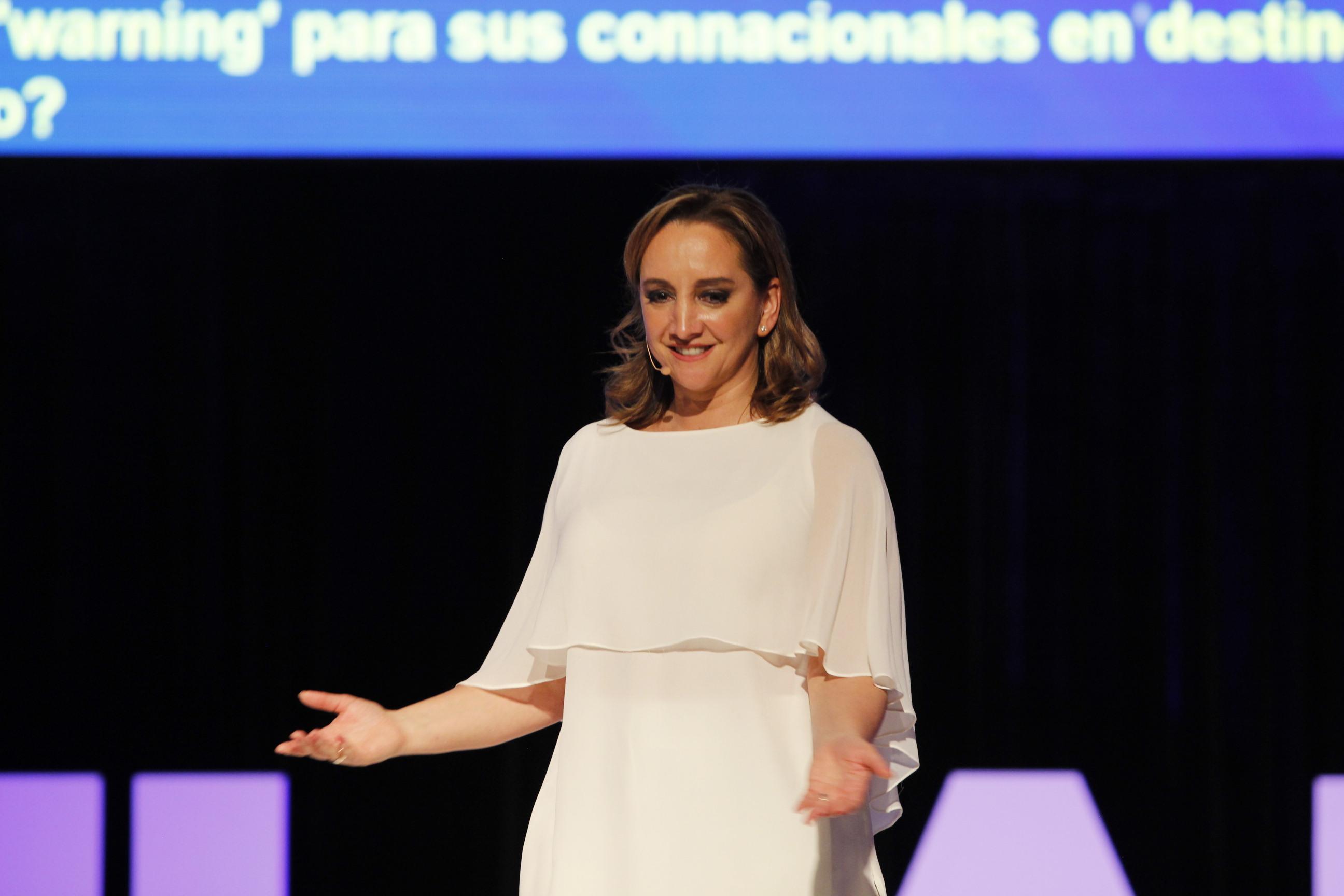 La Canciller Claudia Ruiz Massieu participó en el ciclo de conferencias Era Familiar Princess 2016 donde destacó que las directrices de la política exterior que se implementan desde la Cancillería inciden en México y son un instrumento para construir bien