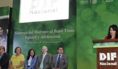 Laura Vargas Carrillo, directora general del DIF Nacional.