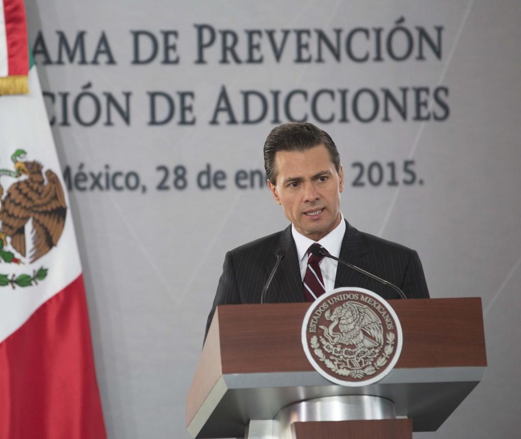 Palabras del Presidente Enrique Peña Nieto, durante la Presentación del Programa de Prevención y Atención de Adicciones