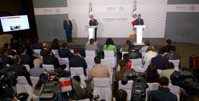 Eduardo Sánchez, Vocero de la República, en conferencia de prensa sobre empleo.