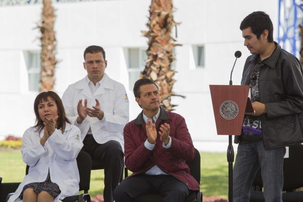Diversas intervenciones durante la Inauguración del Hospital para el Niño Poblano