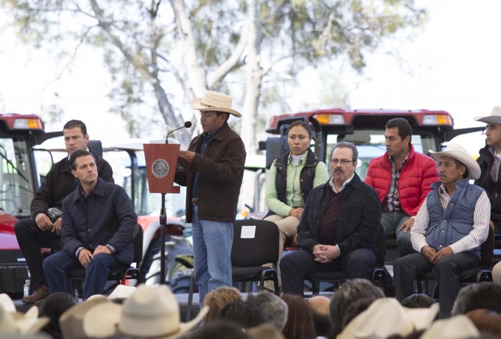 Diversas intervenciones durante el evento Modernización del Campo Mexicano