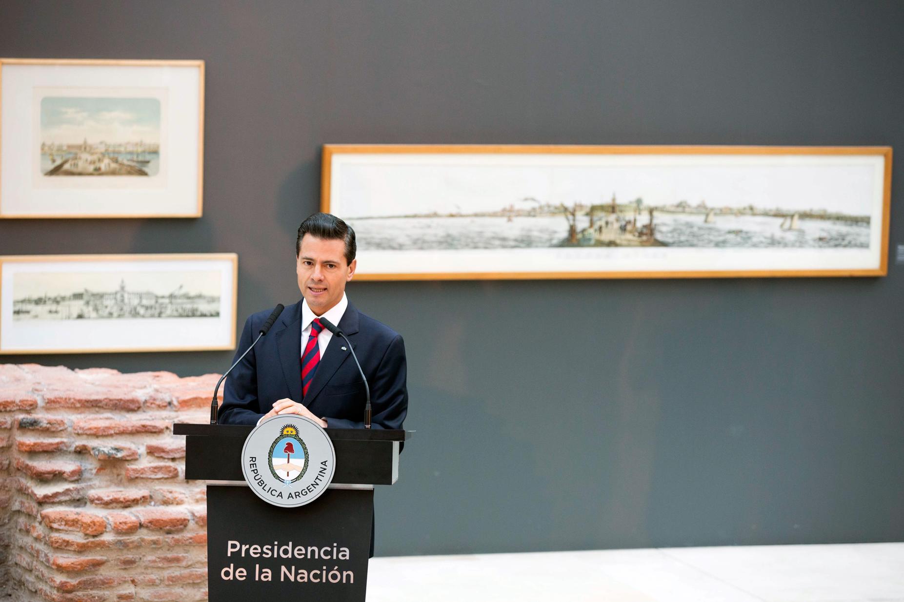 El comercio entre México y Argentina asciende a 2 mil 500 millones de dólares.