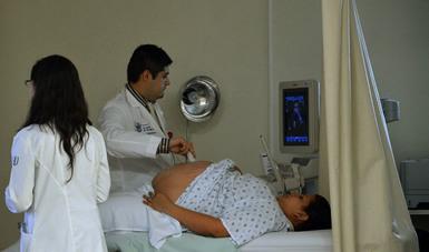 Dolor pelvico izquierdo embarazo