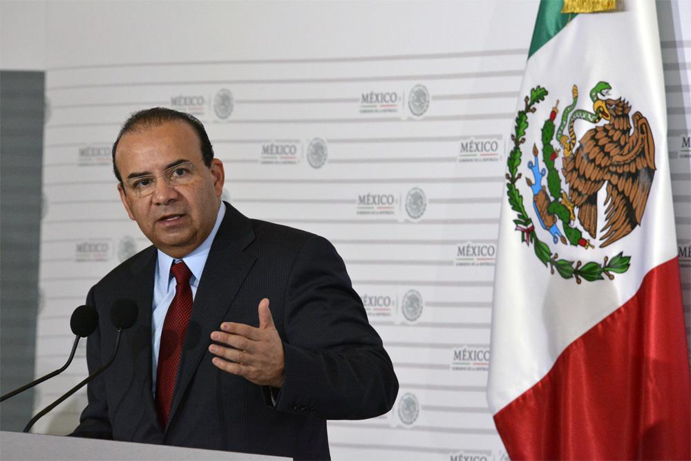 El Secretario del Trabajo y Previsión Social, Alfonso Navarrete Prida, presentó los resultados en el ámbito laboral durante 2014.