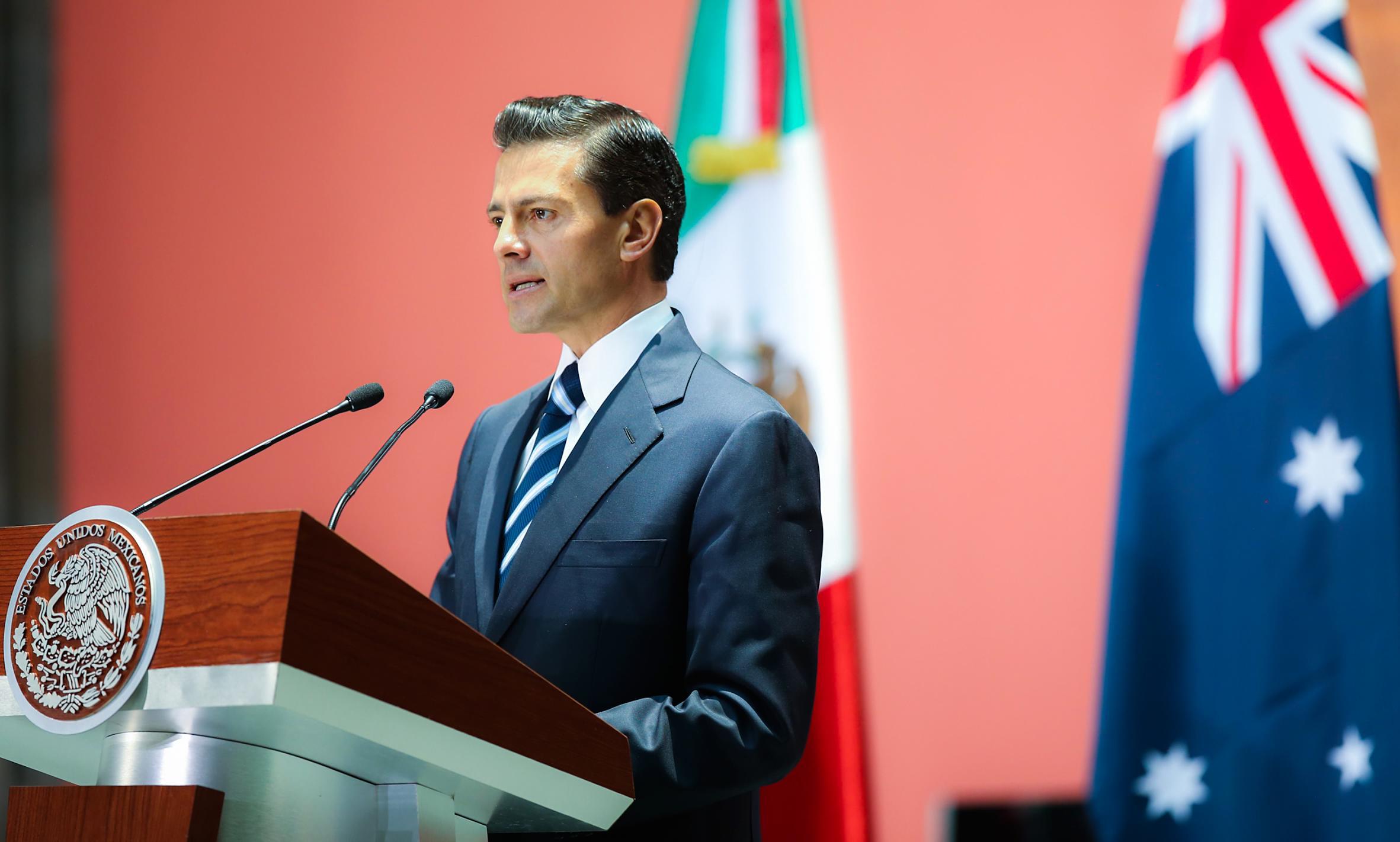 México y Australia acordaron continuar impulsando el diálogo político en todos los niveles, a fin de promover un mayor crecimiento de intercambios económicos.