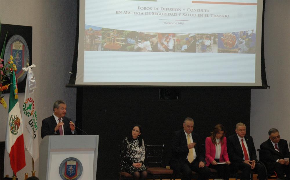Se inaugura en Monterrey, Nuevo León, el  Cuarto Foro de Difusión y Consulta en materia de Seguridad y Salud en el Trabajo.