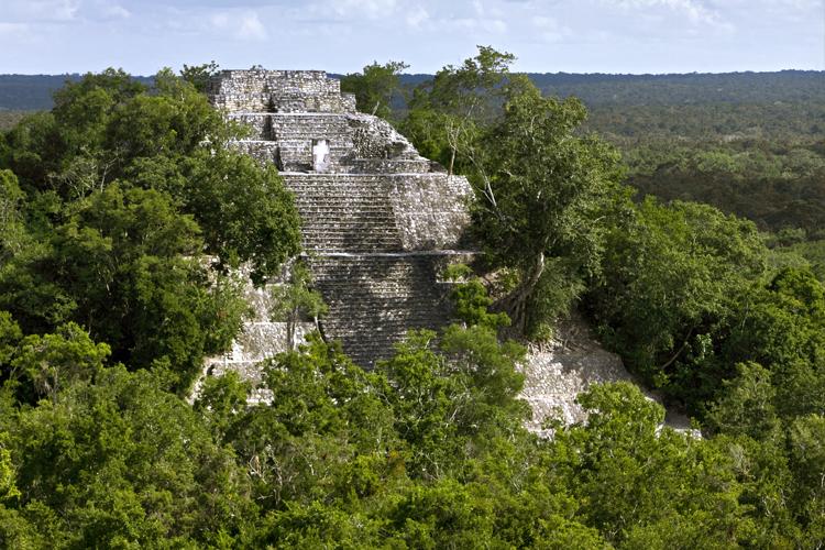 Calakmul como Bien Mixto en la Lista de Patrimonio Mundial de la UNESCO.