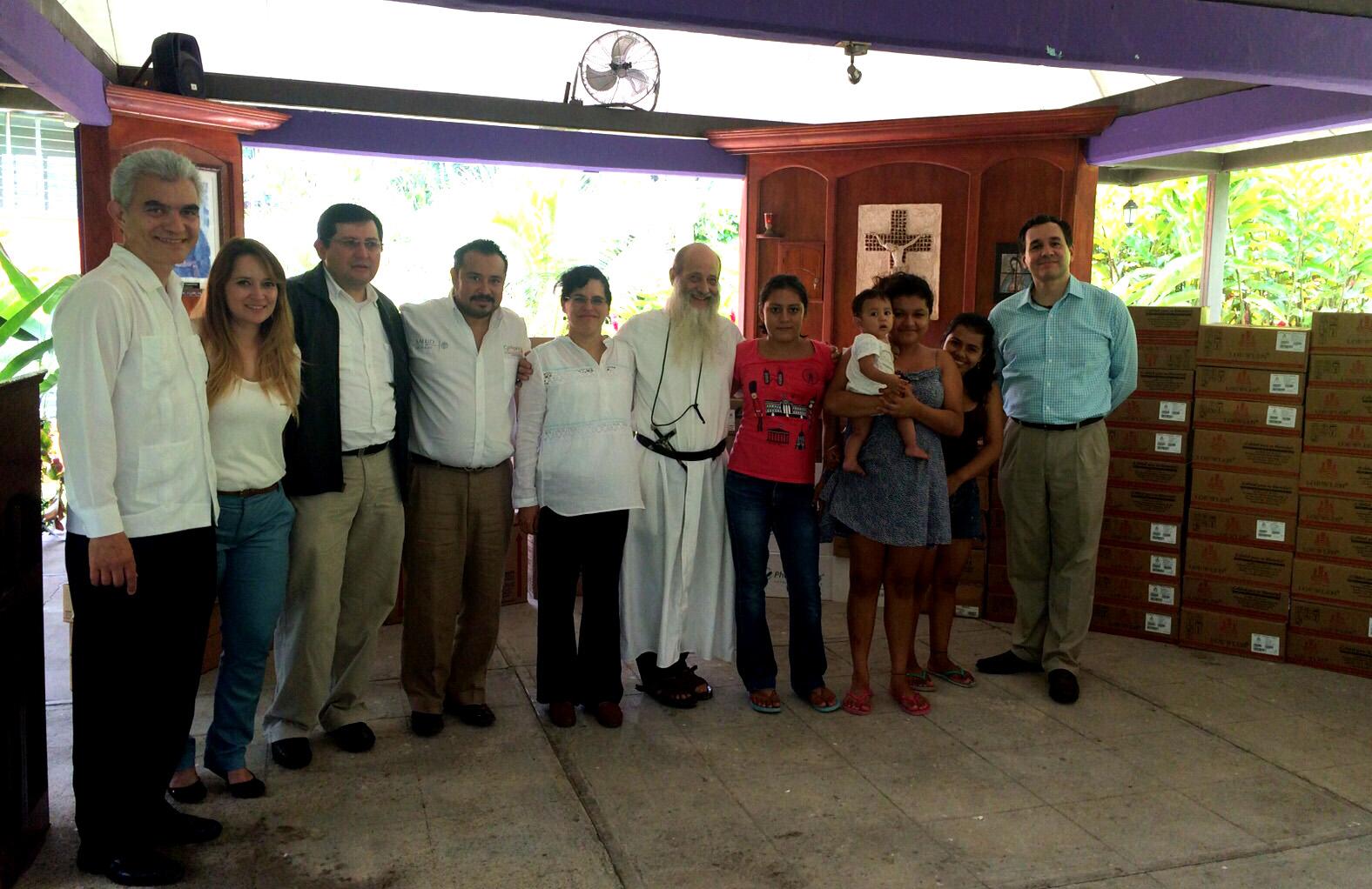 Casa del migrante en tapachula chiapas recibe segunda for Mural de la casa del migrante
