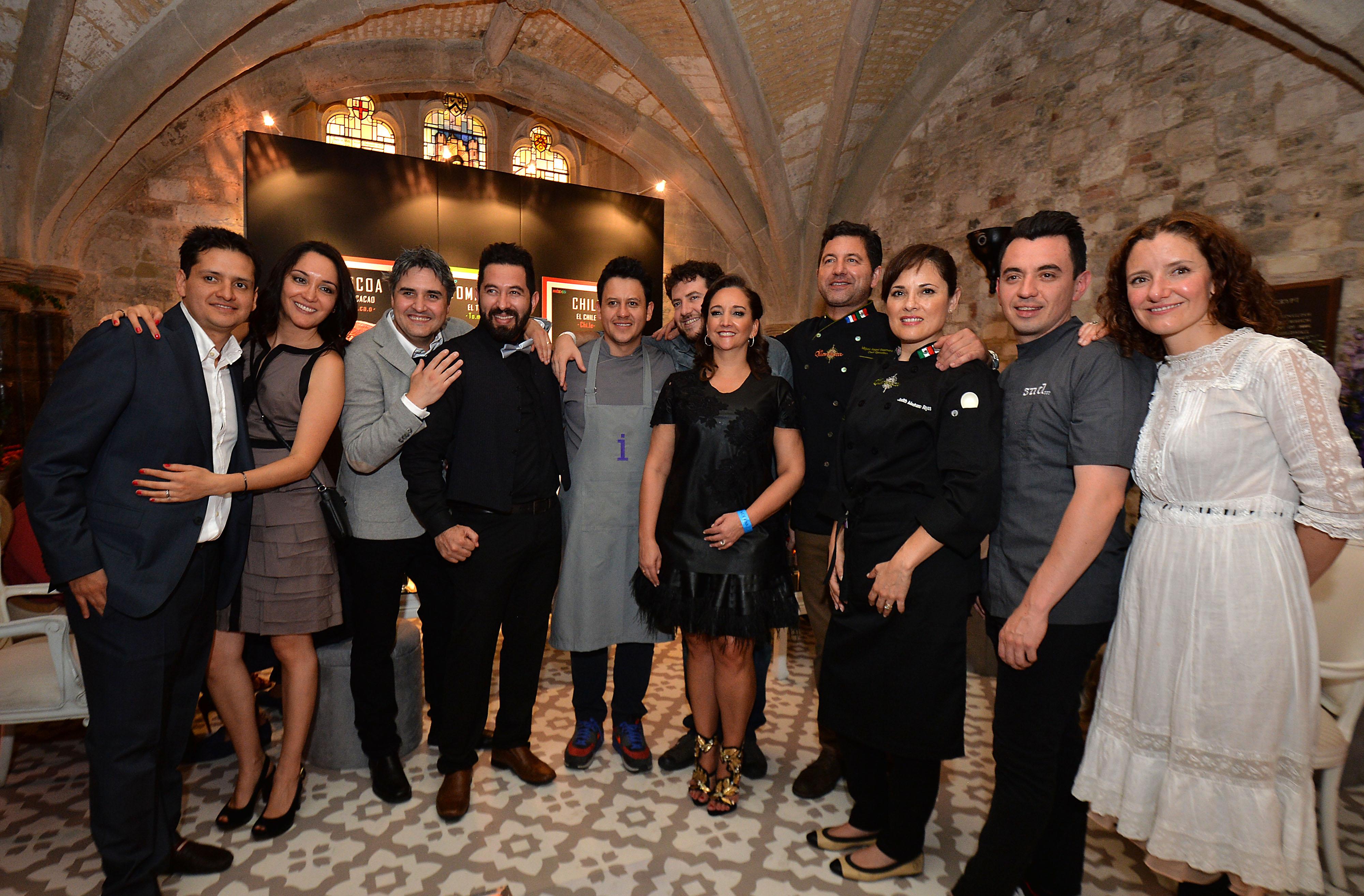 La Secretaria de Turismo (SECTUR), Claudia Ruiz Massieu  presenció la ceremonia encabezada por Charles Reed, Group Managing Director de The World`s 50 Best Restaurantes Academy.
