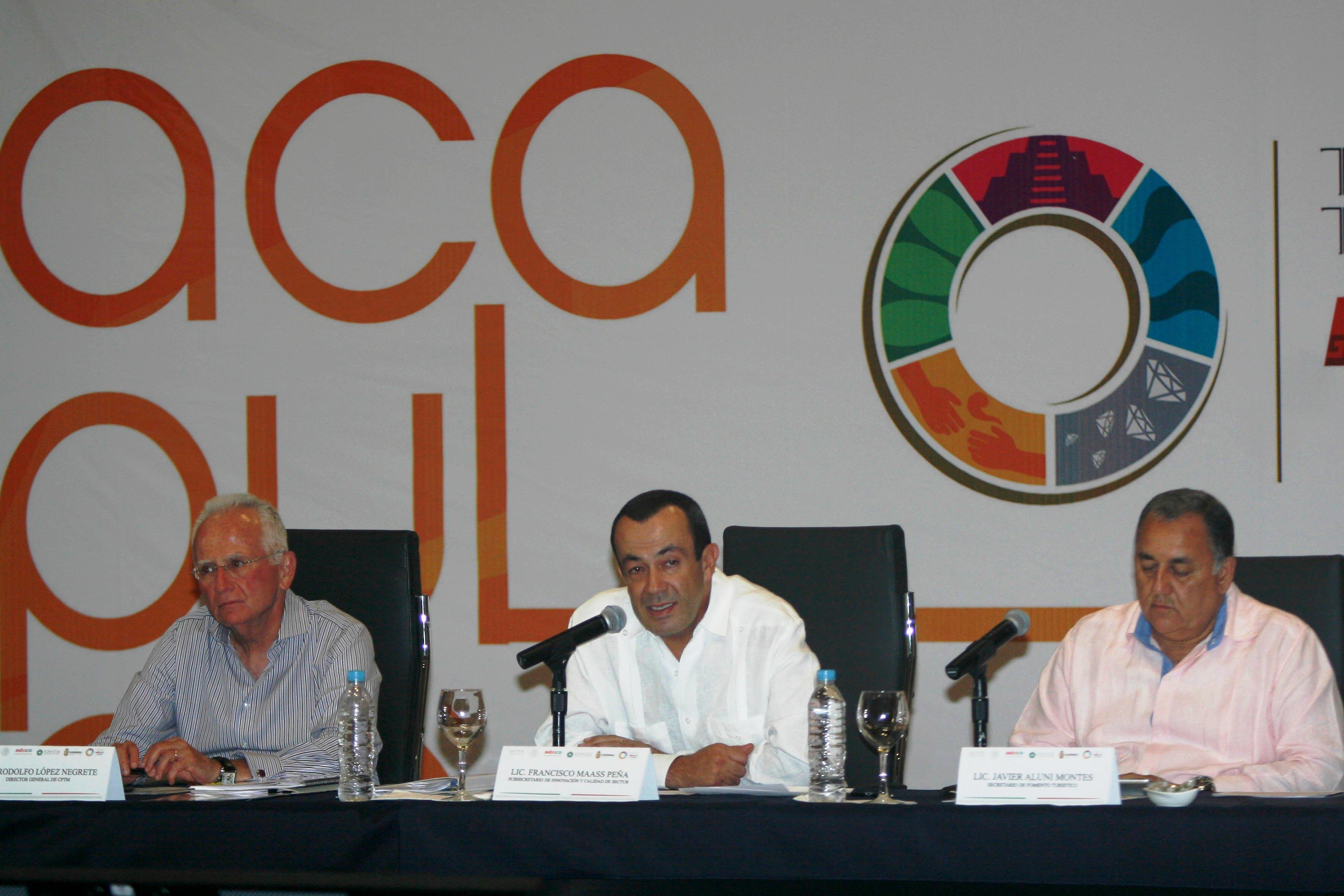 El subsecretario de Turismo, Francisco Maass Peña, aseguró que el Tianguis Turístico de Acapulco 2015 rebasará todas las expectativas.