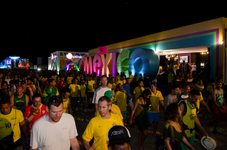 La SECTUR, a través del CPTM promociona a México durante el Mundial de Fútbol Brasil 2014.