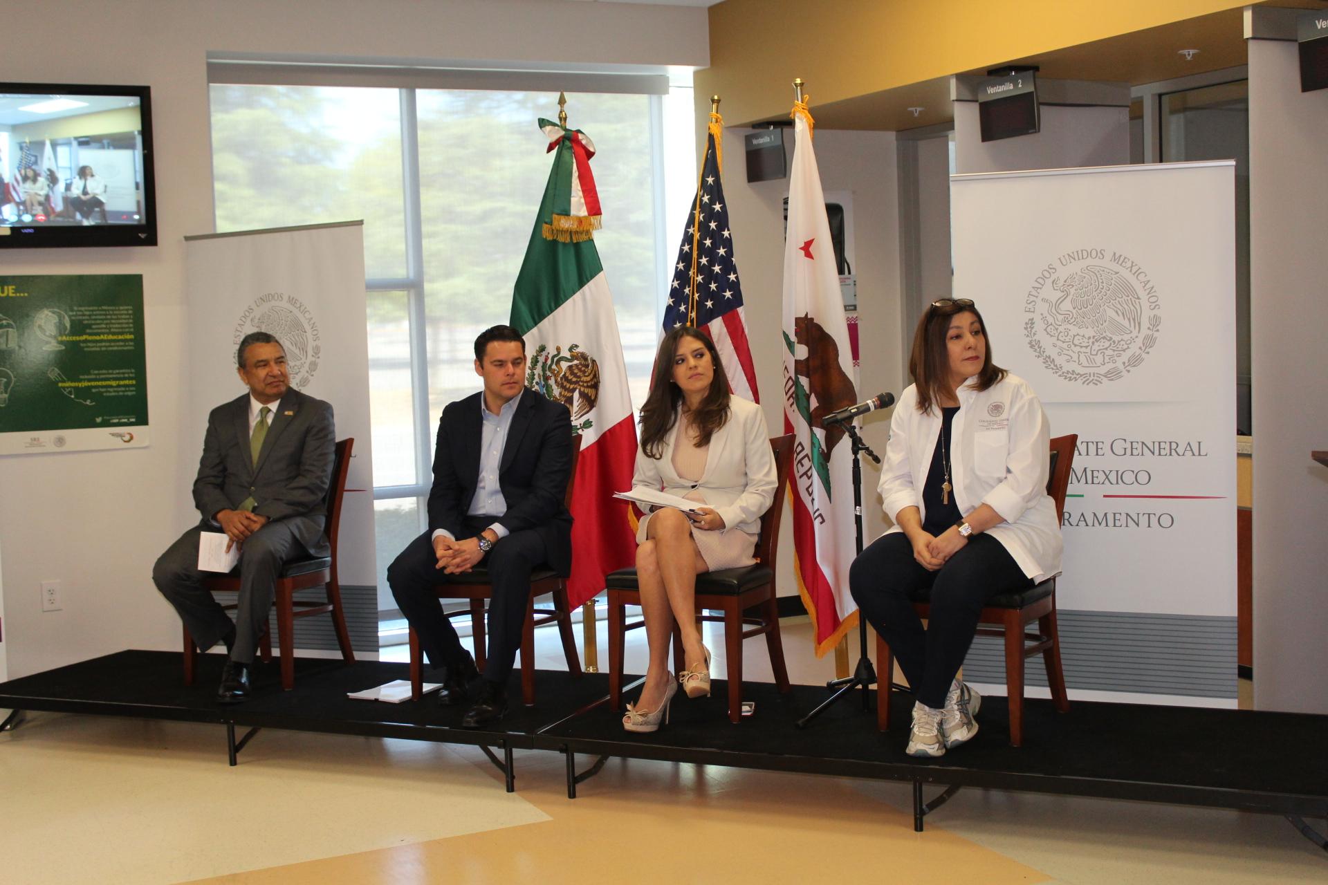 El Ime E Imjuve Fortalecen Programas Para Juventudes Mexicanas En Sacramento Secretar A De