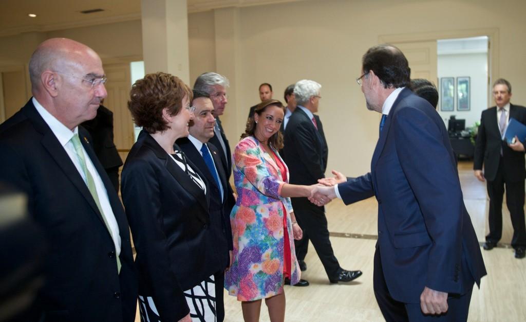 La Secretaria de Turismo, Claudia Ruiz Massieu, durante la gira de trabajo en España.