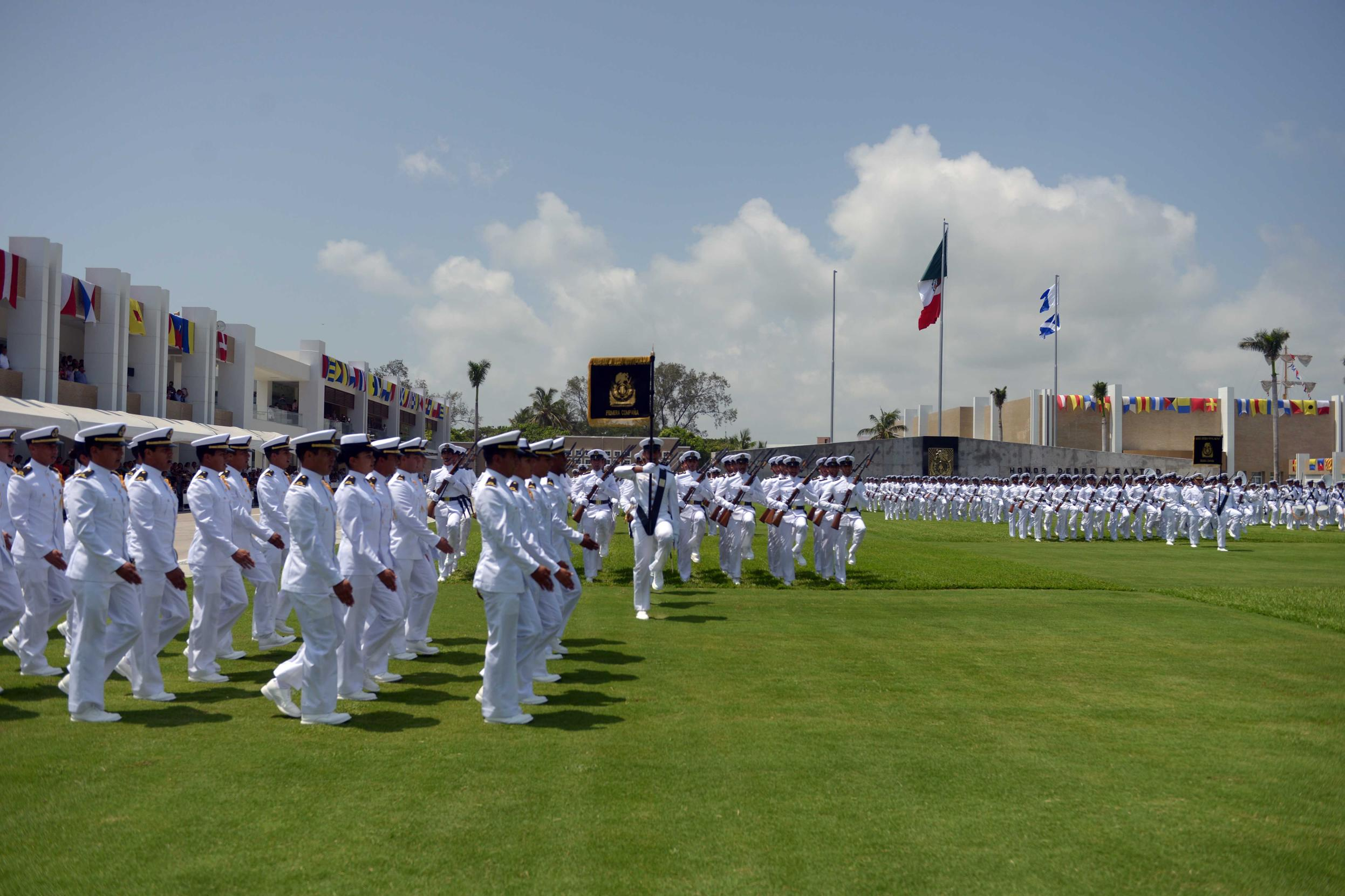 The education offered today by the Heroic Naval Military School, through its six engineering degree programs, is on a par with the best in Mexico.