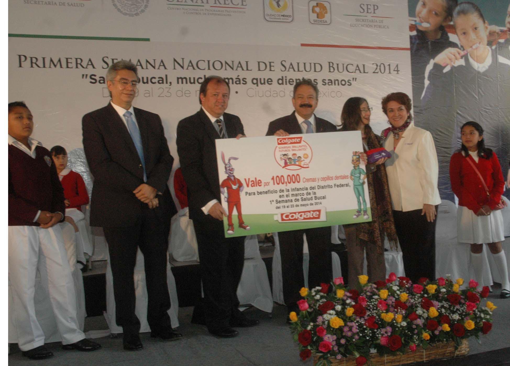 Primera Semana Nacional de Salud Bucal 2014