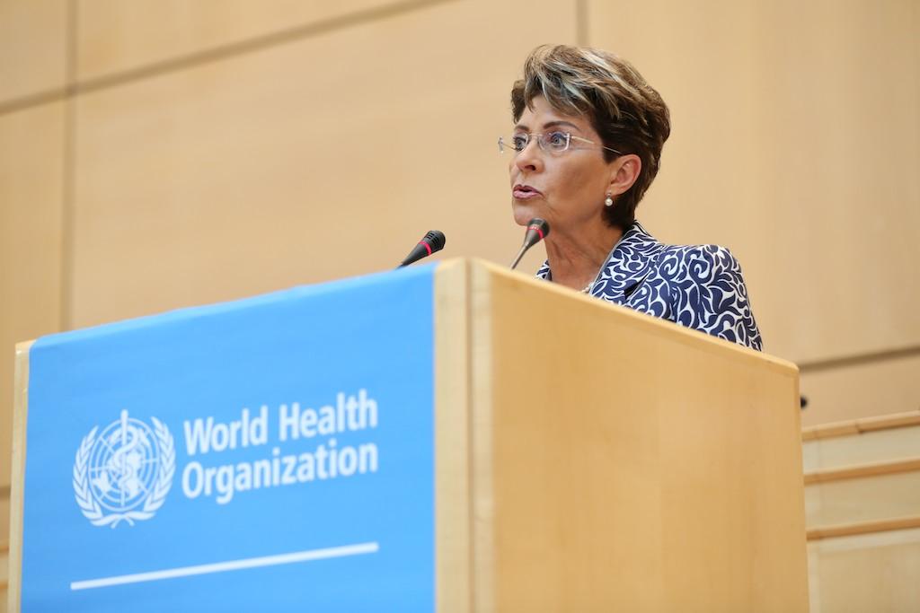 Plenaria de la Asamblea Mundial de la Salud