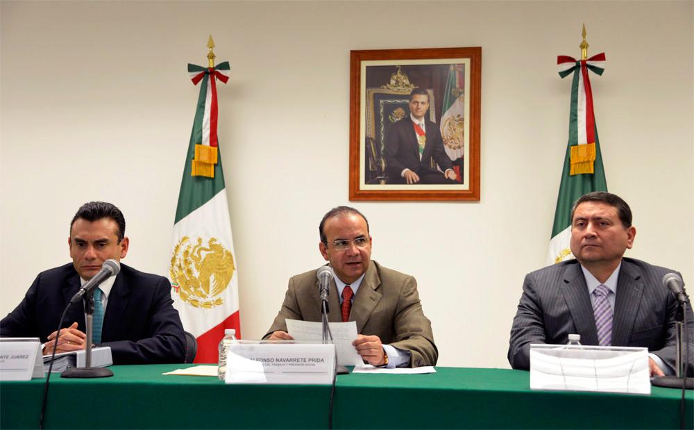 Nuestro sistema de producción agrícola no debe ni puede basarse en la explotación de seres humanos: Secretario Alfonso Navarrete Prida.