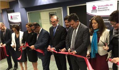 """La Secretaria Ruiz Massieu inaugura """"Ventanilla de Asesoría Financiera"""" en Los Angeles California"""
