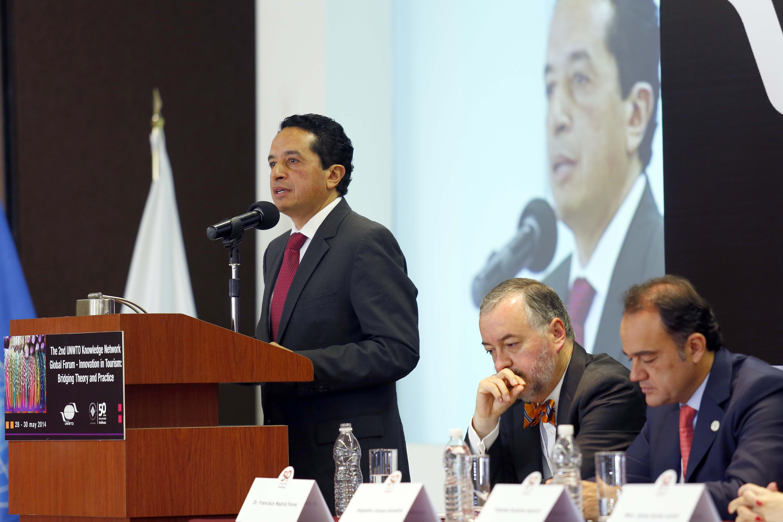 El subsecretario de Turismo, Carlos Joaquín González, inauguró el 2° Foro Global de la Red del Conocimiento, de la OMT.