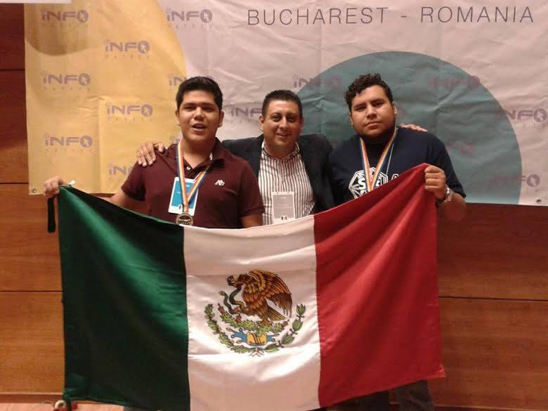 Estudiantes del Tecnológico Nacional de México ganan medalla de oro en el Campeonato Mundial #Infomatrix2015.