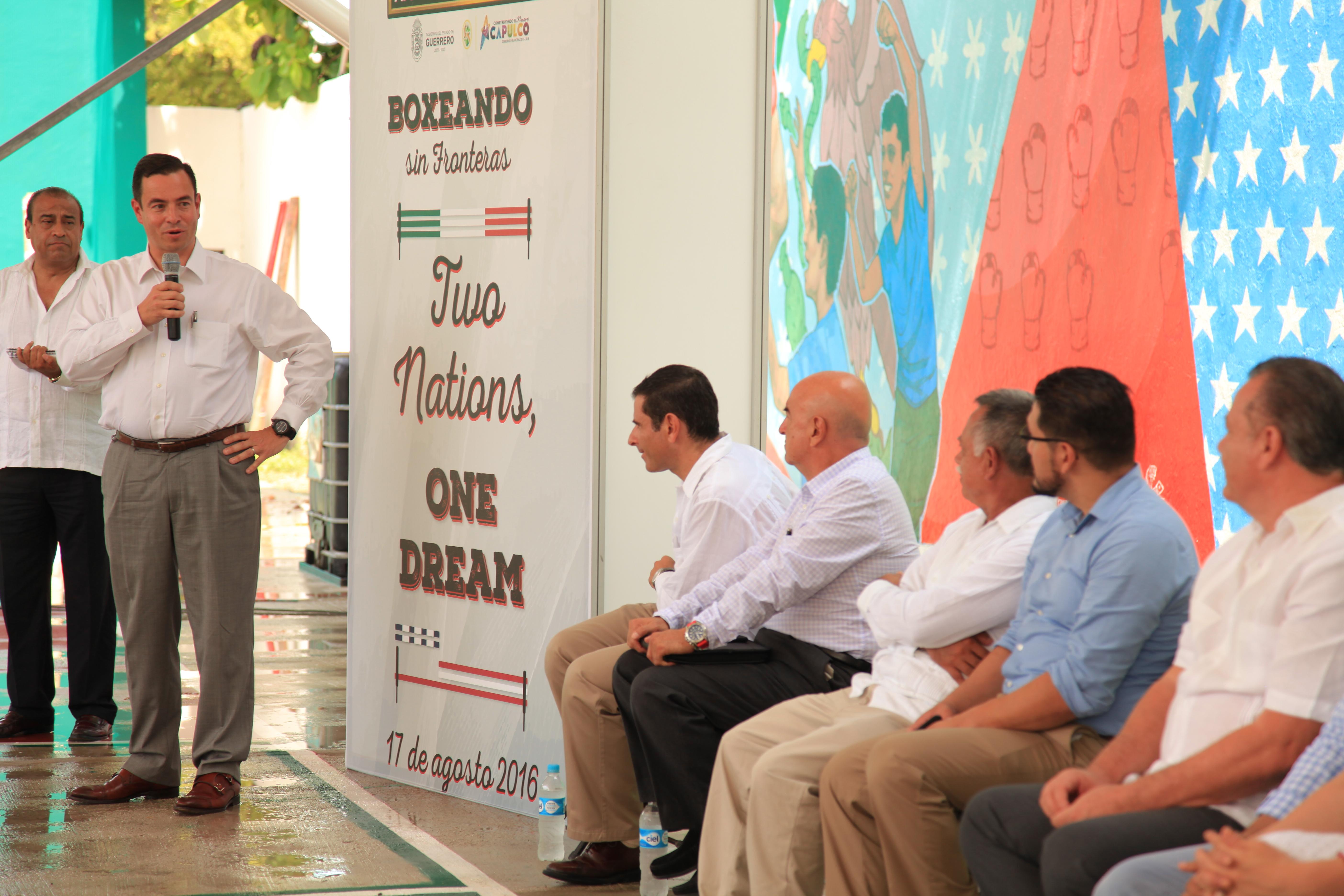 Realizan clínicas binacionales de Box para jóvenes en Acapulco