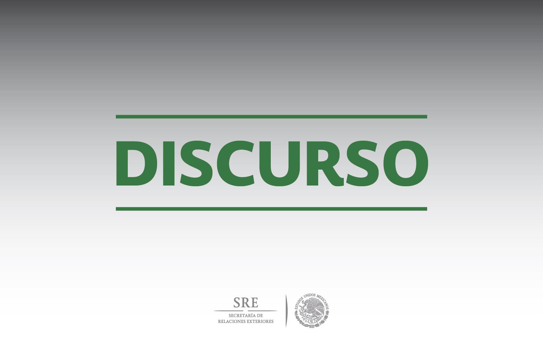 Mensaje de la Secretaria de Relaciones Exteriores, Claudia Ruiz Massieu con la Comunidad Judía en México