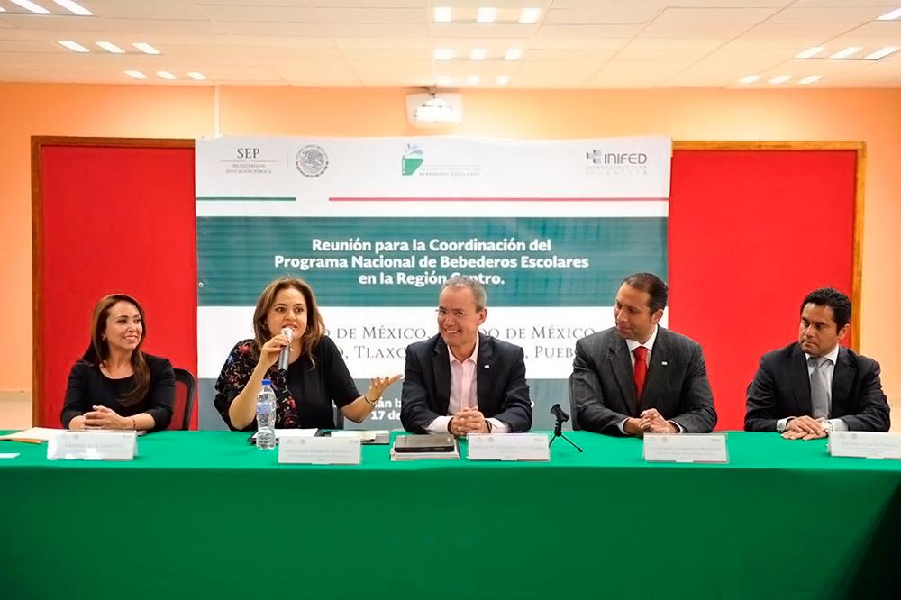Anuncia Inifed reuniones regionales para evaluar avances de Escuelas al CIEN