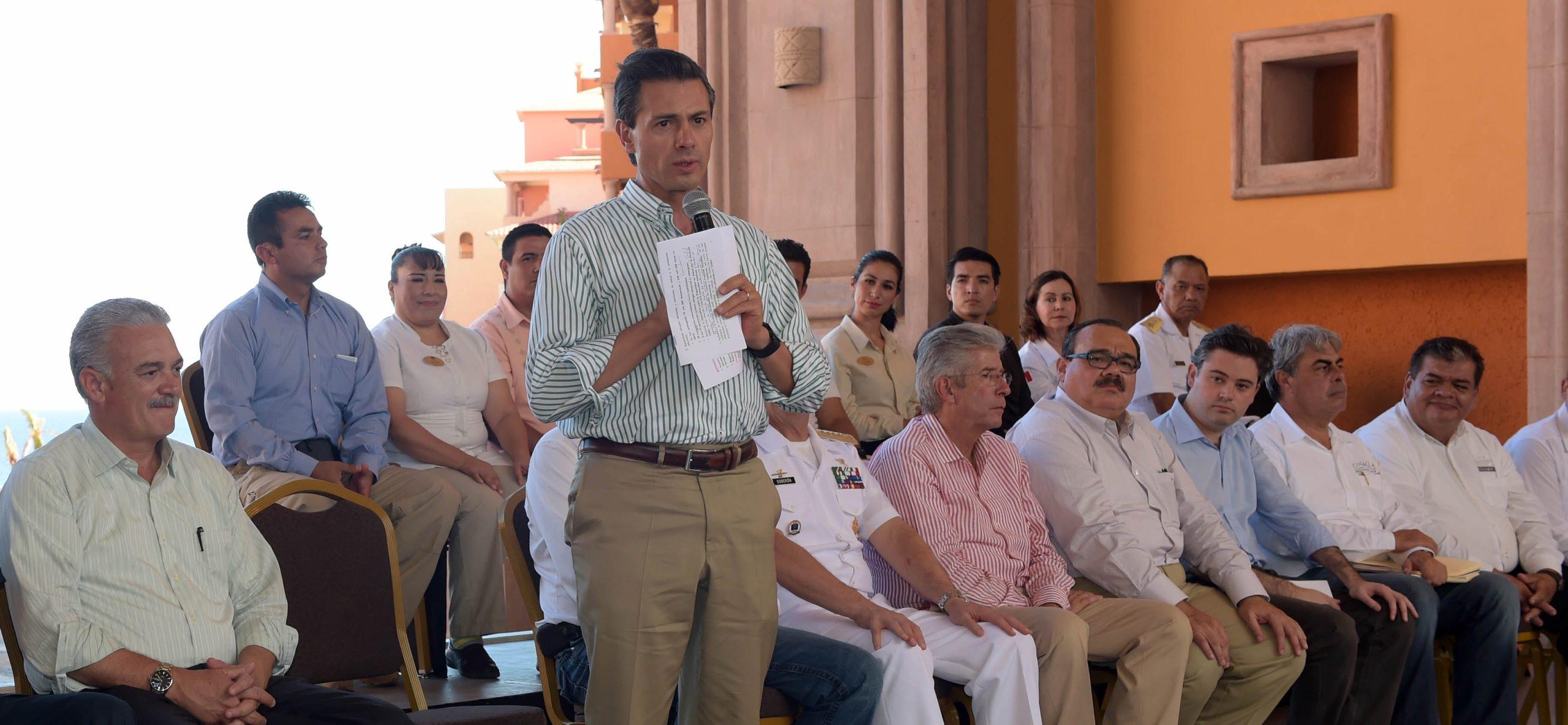 El Presidente de la República, Enrique Peña Nieto, realizó una gira de trabajo por el estado de Baja California Sur.