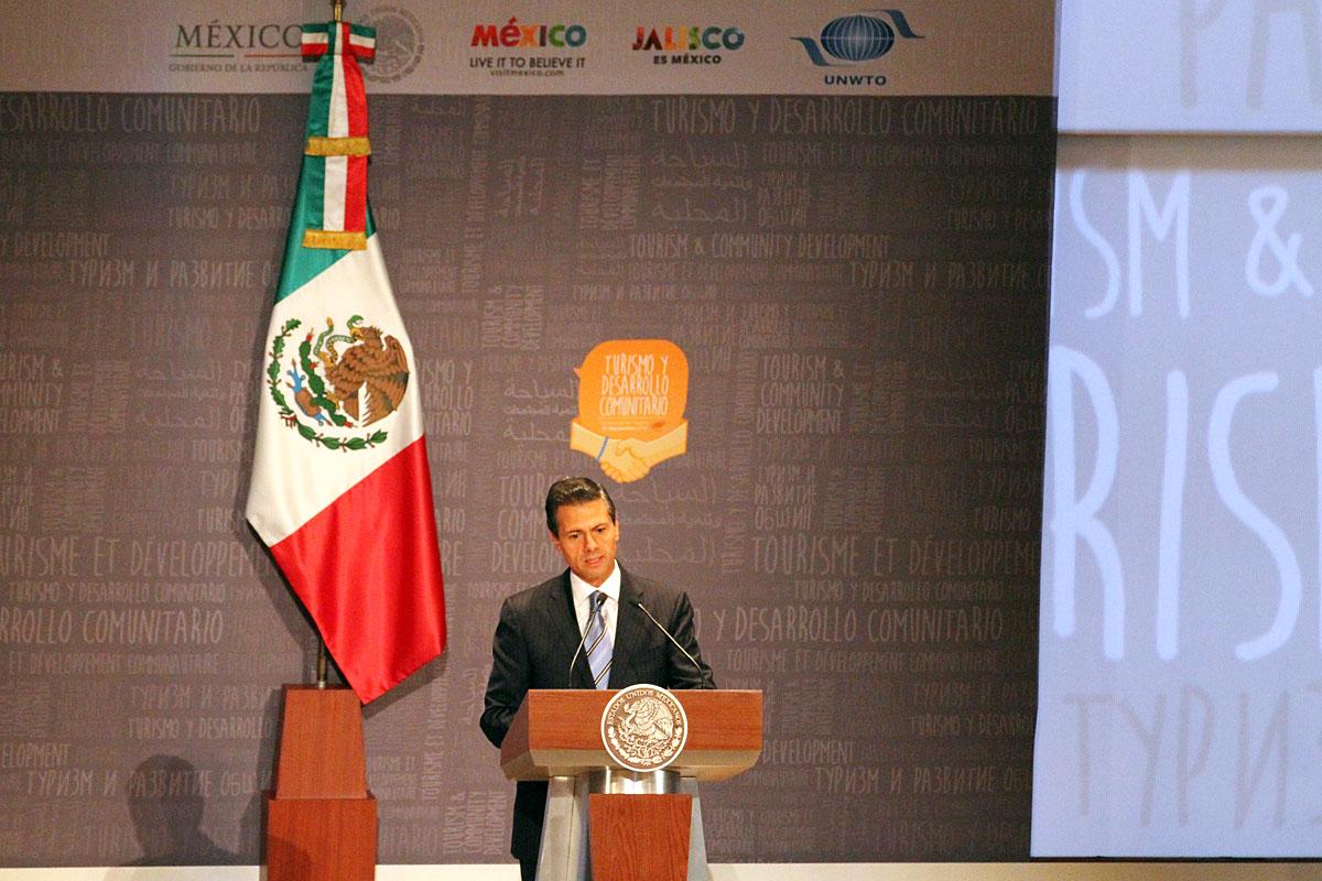 Presidente de la República, Enrique Peña Nieto.