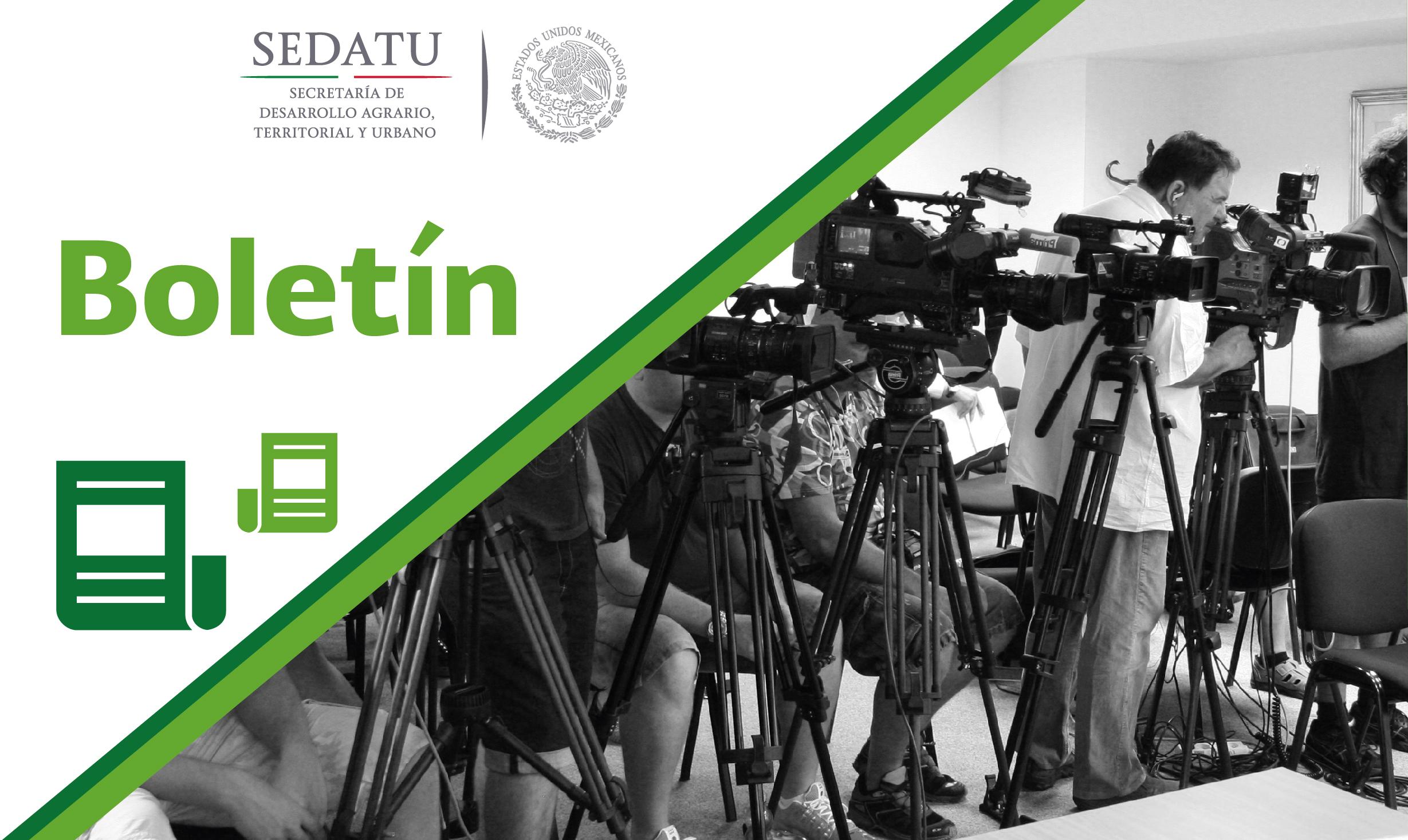 Invertirán la SEDATU y el gobierno de Puebla más de 223.6 MDP para la reconstrucción urbana y de vivienda