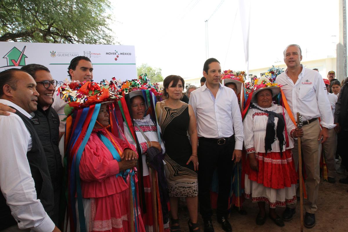 Entrega la SEDATU 1,700 acciones de vivienda en beneficio de familias queretanas