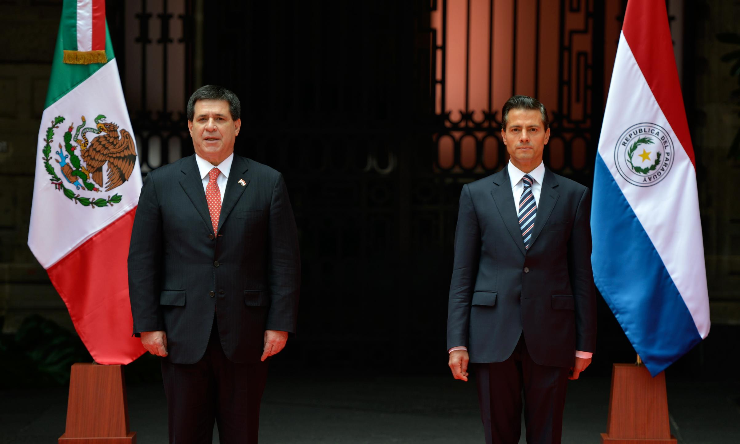Official visit to Mexico by the President of Paraguay, Horacio Cartes Jara
