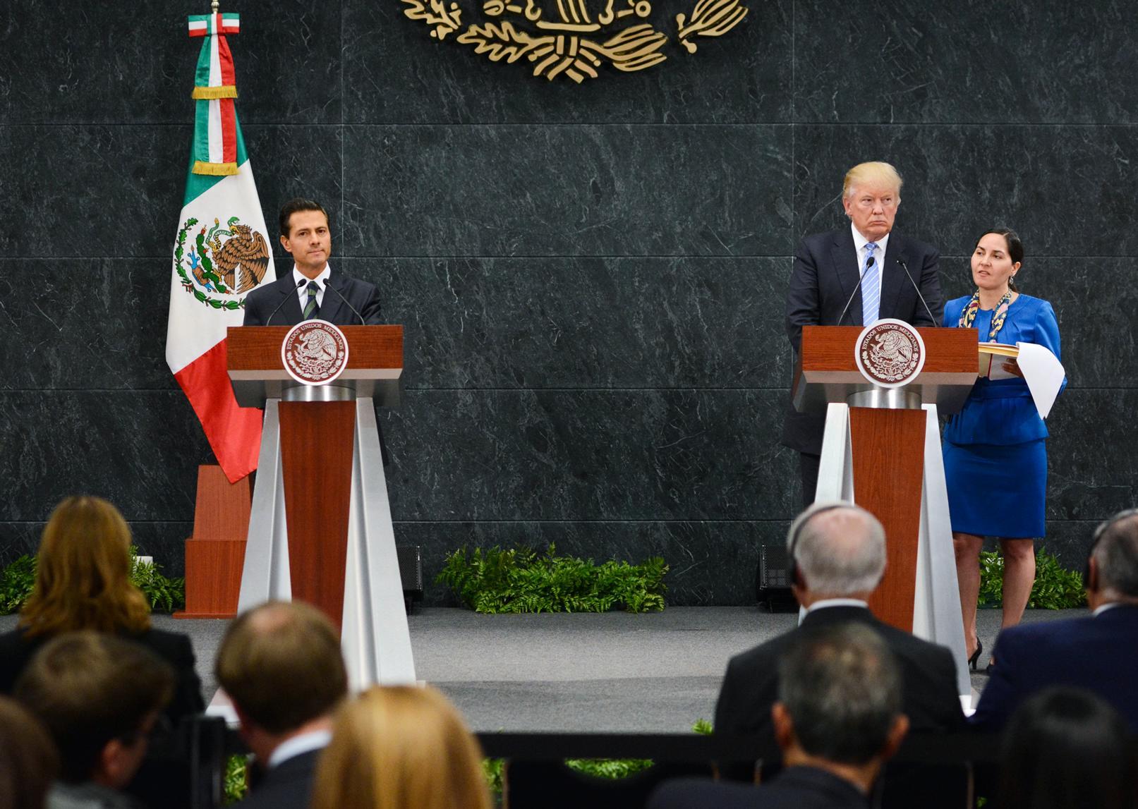 """""""Nuestra frontera debe ser vista como una oportunidad conjunta"""": EPN"""
