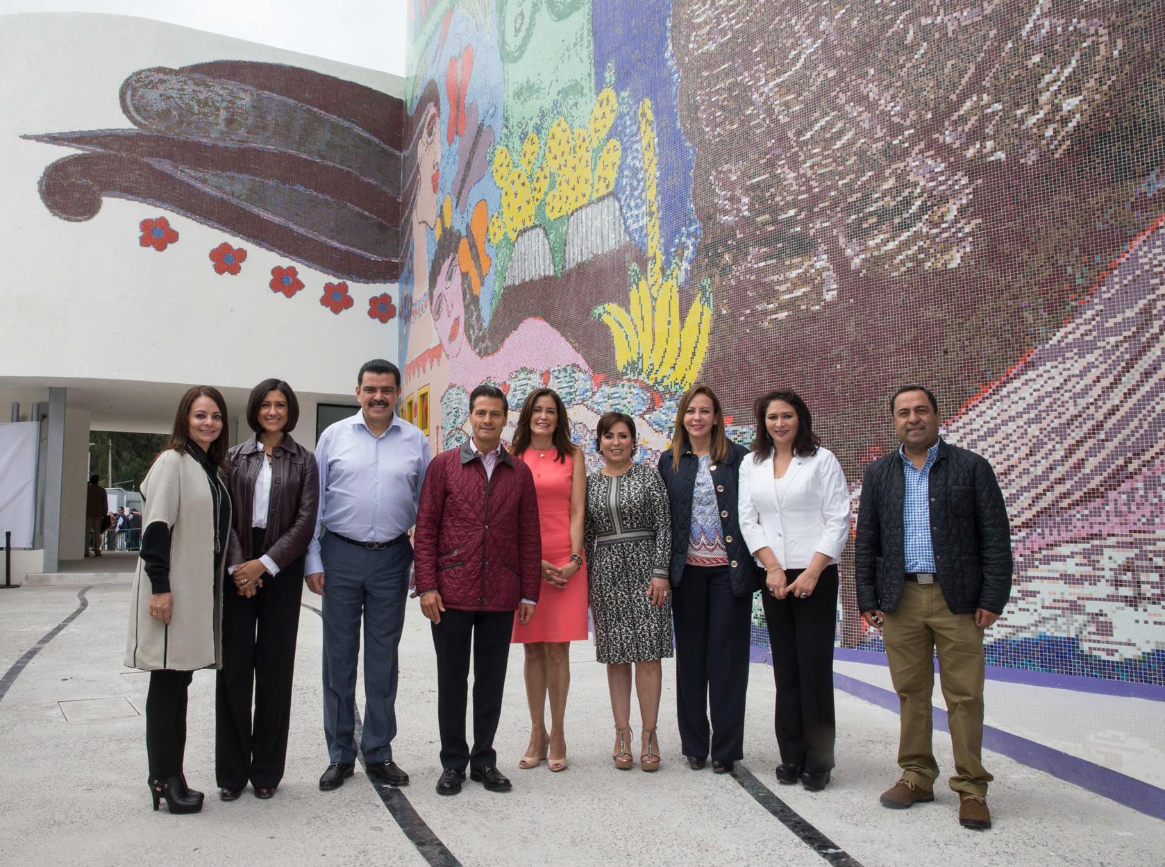 El Primer Mandatario inauguró la Ciudad de las Mujeres de Hidalgo.