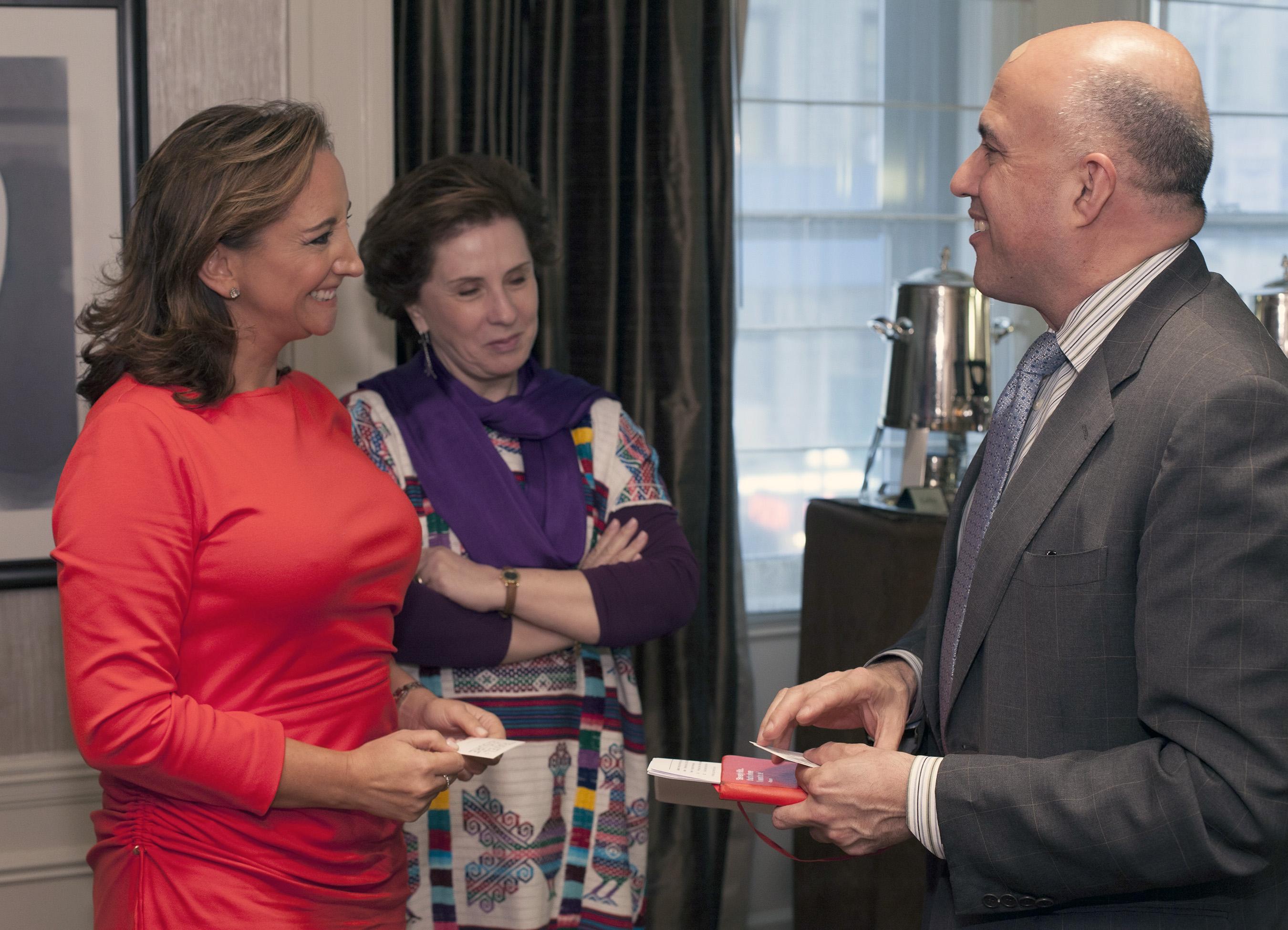 La Secretaria de Turismo del Gobierno de la República, Claudia Ruiz Massieu, en gira de trabajo por Nueva York.