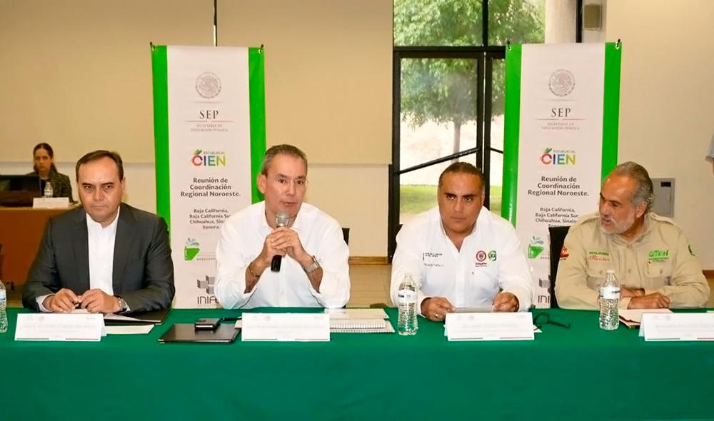 Héctor Gutiérrez asegura el cumplimiento de trabajos de mejora en más de 33 mil planteles en el país