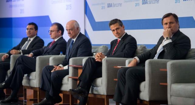 EPN en la Reunión Nacional de Consejeros de BBVA Bancomer 2015.