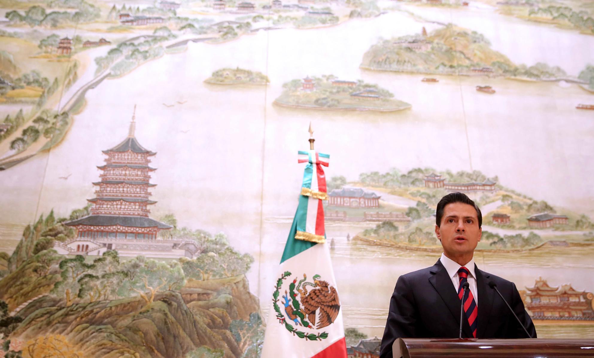 """""""Los Gobiernos de México y de Estados Unidos de América han trabajado de manera conjunta en una agenda común, en temas como seguridad, educación y medio ambiente, así como infraestructura y seguridad fronteriza"""": EPN"""