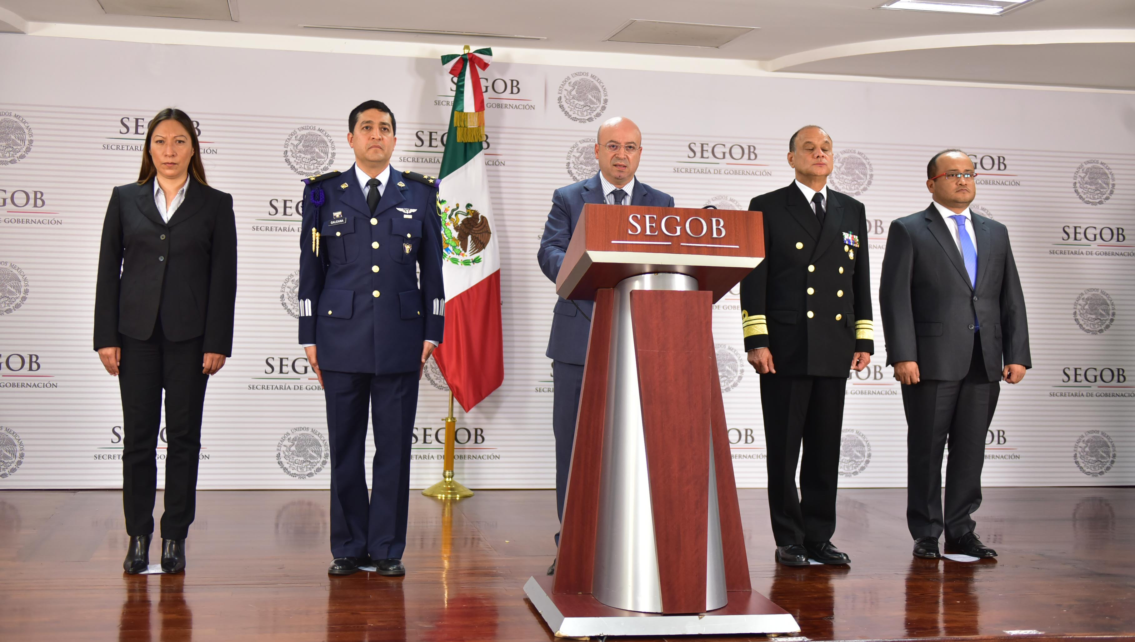 Comisionado Nacional de Seguridad, Renato Sales Heredia, anuncia la captura de uno más de los 122 objetivos prioritarios establecidos por el Gobierno de la República al inicio de esta administración